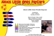 Alexis little Ones Daycare